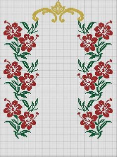 Red and white knitting pattern for christmas and new year vector de stock (libre de regalías) 526547758 Beaded Cross Stitch, Cross Stitch Borders, Cross Stitch Rose, Crochet Cross, Cross Stitch Flowers, Cross Stitch Designs, Cross Stitch Patterns, Tunisian Crochet Patterns, Knitting Patterns