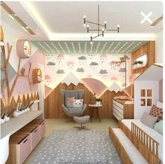 porque eu sei que vocês amam um ambiente fofo! 45 Cozy Bedroom Design Ideas for Your Children's 47 Amazing Scandinavian Bedroom Design You Will Love Love this girl's bedroom! Love the entire concept. Baby Bedroom, Baby Room Decor, Girls Bedroom, Bedroom Decor, Bedroom Ideas, Bedroom Wall, Wall Decor, Childs Bedroom, Bedroom Pictures