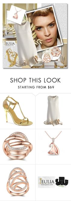 """""""Jeulia"""" by janee-oss ❤ liked on Polyvore featuring Michael Kors, Chinese Laundry and Chicwish"""