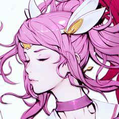 Close up of Lux Thanks everyone! #leagueoflegends #starguardian #animegirl #magicalgirls #lux