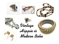"""""""Vintage Hippie is Modern Boho"""" by cindydcooley ❤ liked on Polyvore featuring moda, modern, vintage, women's clothing, women's fashion, women, female, woman, misses y juniors"""