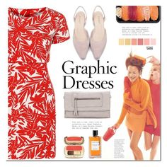 """""""Graphic dress"""" by mada-malureanu ❤ liked on Polyvore featuring Dolce&Gabbana, Van Cleef & Arpels and Seed Design"""