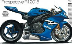 I want it. Yamaha R1 2015.