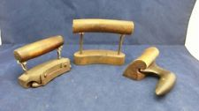 3pc MILLINERY HAT MAKERS MAKING BRIM SHACKLE PENCIL IRONS TOLLIKER & GROOVE TOOL