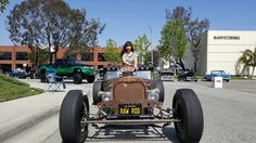 Vanzer clothing model shoot with my RAW ROD. At Edelbrock car show Step Van, Car Show, Antique Cars, Vans, Classic, Clothing, Model, Vintage Cars, Derby
