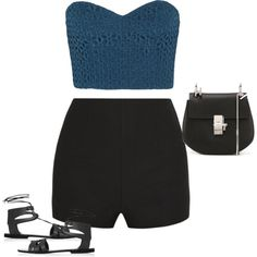 Untitled #1072 by quaybrooks on Polyvore featuring polyvore fashion style TIBI Elizabeth and James Topshop Chloé