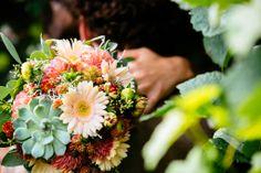 Mein (Traum)Brautstrauß... die Farben mint und peach - ein Muss!