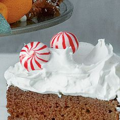 Peppermint-Cream Frosting | MyRecipes.com