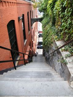 The Exorcist Steps (Washington DC) been there done that. It's a work out