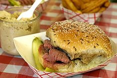 Charlie the Butcher's Beef on Weck...I dream about it on a weekly basis. Yummm