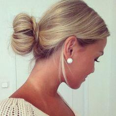 Gotta Try this for sania bun braid I love her hair. Her hair ? Good Hair Day, Love Hair, Gorgeous Hair, Cute Bun Hairstyles, Girl Hairstyles, Hairstyles 2018, Braided Hairstyles, Wedding Hairstyles, Hairdos