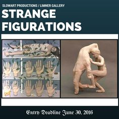 "STRANGE FIGURATIONS - DEADLINE JUNE 30, 2016 - $2400 IN AWARDS. The exhibition is open to all interpretations of the concept, Strange Figurations, this includes surreal, visionary and out of the ordinary figurative art. The show is open to all media, techniques and styles from realist to expressionistic. 72"" maximum dimension. http://www.theartlist.com/art-calls/strange-figurations"