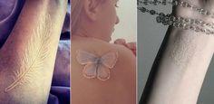 Białe tatuaże: dyskretne, koronkowe wzory, w których się zakochasz