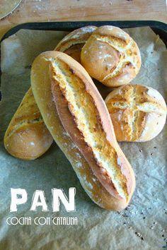 , como hacer Pan paso a paso PAN , como hacer Pan paso a pasoPAN , como hacer Pan paso a paso Pan Bread, Bread Baking, Kitchen Recipes, Cooking Recipes, Mexican Bread, Salty Foods, Pan Dulce, Artisan Bread, Croissants