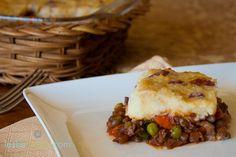 Vegan Mushroom Lentil Shepherd's Pie!