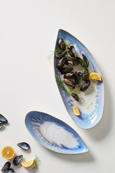 Anthropologie Oceana Platter