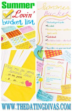 dating divas date night bucket list Stick to a date with this bucket list kit just for couples, you'll never find yourself asking what should we do for date  date night bucket list on uncommongoods.