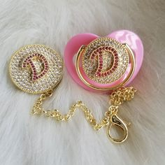 Crystals Bling Baby Initial Letter Pacifier and Clip – Bling Bling Babies Bling Baby Shoes, Baby Bling, Boy Shoes, Bling Bling, Bling Pacifier, Baby Hair Brush, Initial Letters, Crystal Rhinestone, Baby Gifts