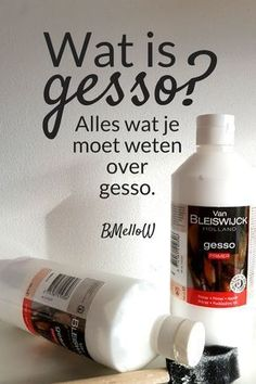 Wat s gesso? Alles wat je moet weten over gesso. Hobbies For Men, Hobbies And Crafts, Diy And Crafts, Paper Crafts, Creative Crafts, Painting Lessons, Painting Tips, Painting Techniques, Gesso Art