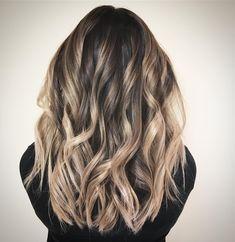 Balayage Hair Color Idea,Fall balayage hair color #balayage #blondebalayage #foilayage #blondehair #blondehighlights #fallhair #hairpainting #hairpainters