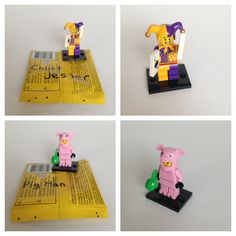 enter mini lego series 12 code | The Court Jester was one of the first minifigures we found. He has ...