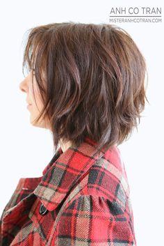 Bobbed hair - side