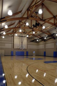 Family recreation barn gym - traditional - home gym - grand rapids - AMDG Architects