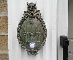 Disney Haunted Mansion Plaque Doorbell | eBay