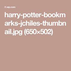harry-potter-bookmarks-jchiles-thumbnail.jpg (650×502)