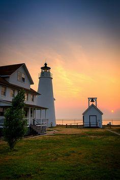 Chesapeake Bay Sunrise, Cove Point Maryland