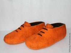 Felted shoes tutorial МК Как я приваливаю язычок к тапкам - кедам - Ярмарка Мастеров - ручная работа, handmade