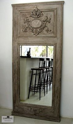 Trumeau Mirror made by FARRAGOZ. Make your own ~ FARRAGOZ  Online Course in the Art of Patina. http://farragoz.blogspot.com/