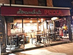 Exterior Stromboli Pizza, Local Bars, East Village, The Locals, New York, Exterior, New York City, Outdoors
