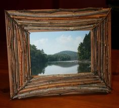 Valentine's Day Gift Ideas For College Students. DIY Twig Frame