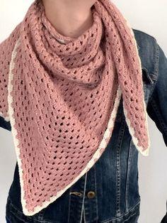 8 Besten Häkeln Schals Und Tücher Bilder Auf Pinterest