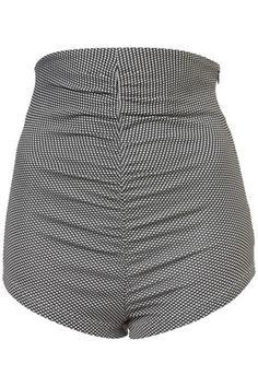 Knicker-Shorts Mit Jacquard-Trapez