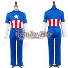 Filme capitão américa Steve Rogers Cosplay homens USO de Halloween personalizado D0616 //Price: $US $119.00 & FREE Shipping //    #civilwar #thor #hulk #antman #marvel