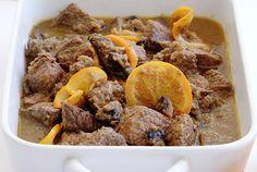 Μοσχάρι με πορτοκάλι Beef Steak, Pork, Pastry Cook, Greek Recipes, Pot Roast, Healthy Eating, Tasty, Healthy Recipes, Meat