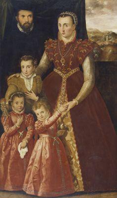 unknown artist and family, in Museo Nacional del Prado