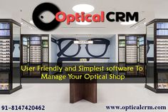 f0d074d2bf7 Optical CRM software stands customer relationship management system