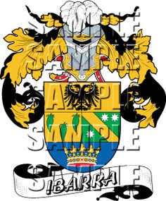 Ibarra Family Crest apparel, Ibarra Coat of Arms gifts
