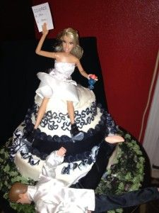 Divorce Cake. Divorce Party. Trash the Dress. Celebrate!