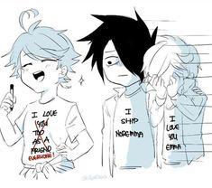Memes Yakusoku no Neverland Anime Meme, Manga Anime, Dibujos Anime Chibi, Desenhos Love, Anime Lindo, Best Horrors, Manga Comics, Anime Ships, Neverland