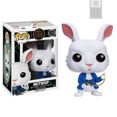 Alice Through the Looking Glass Rabbit Pop! Vinyl Figure - Funko - Alice in Wonderland - Pop! Vinyl Figures at Entertainment Earth Disney Pop, Pop Vinyl Figures, Pop Action Figures, Figurine Disney, Pop Figurine, Rocky Horror, A Wrinkle In Time, Funko Pop Dolls, Chesire Cat
