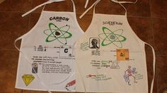This is a great science project to do early in the year.  Click on the link and you will get more information on how to get the aprons for students to personalize!