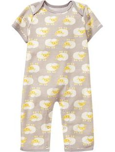 Lamb-Print One-Pieces for Baby | Old Navy