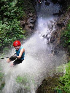 Canyoneering is so much fun in Monteverde, Costa Rica #costarica   monteverdetours.com