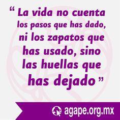 Frases AGAPE #HazConciencia #HumanTrafficking #AGAPE #FrasesAGAPE  #tratadepersonas #mujeres #víctimas  https://instagram.com/p/9tRhMiOWsx/