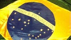 Bandera fabricada a mano Berny