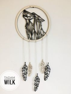 Wall Decor, Room Decor, Paper Crafts, Diy Crafts, Dream Catcher, Back To School, Crafty, Embroidery, Tattoos